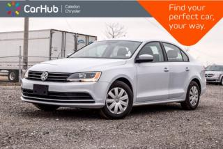 Used 2017 Volkswagen Jetta Sedan Trendline+|Backup Cam|Bluetooth|Heated Front seats|Pwr Windows|Keyless Entry for sale in Bolton, ON