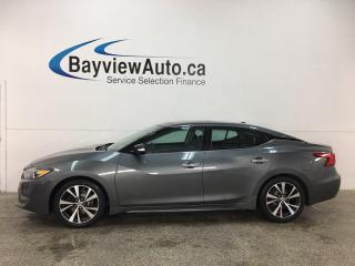 Used 2017 Nissan Maxima Platinum - REMOTE START! PANOROOF! NISSAN CONNECT! BOSE SOUND! BSA! HTD/COOLED LTHR! for sale in Belleville, ON