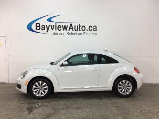 Used 2014 Volkswagen Beetle 2.0 TDI Comfortline - 6SPD! HTD SEATS! A/C! CRUISE! ALLOYS! for sale in Belleville, ON