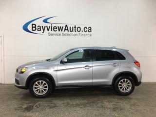 Used 2017 Mitsubishi RVR - BLUETOOTH! HTD SEATS! CRUISE! A/C! ALLOYS! for sale in Belleville, ON