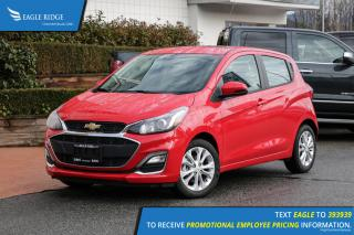 New 2019 Chevrolet Spark 1LT CVT Apple CarPlay & Android Auto, Backup Camera for sale in Coquitlam, BC