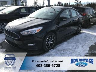 Used 2018 Ford Focus SE Heater Seats  -  Heated Steering Wheel for sale in Calgary, AB