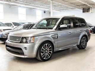 Used 2013 Land Rover Range Rover Sport AUTOBIOGRAPHY/SUPERCHARGED/NAV/BACK-UPCAMERA! for sale in Toronto, ON