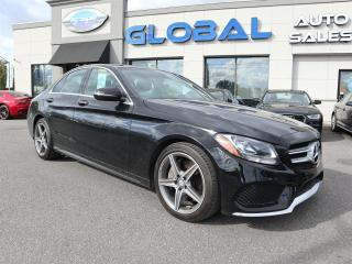 Used 2016 Mercedes-Benz C 300 4MATIC Sedan AMG Styling Pkg. NAVIGATION , MORE .... for sale in Ottawa, ON