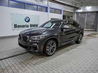 New 2019 BMW X4 M40i for sale in Edmonton, AB