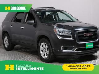 Used 2014 GMC Acadia SLE 8 PASSAGERS for sale in St-Léonard, QC