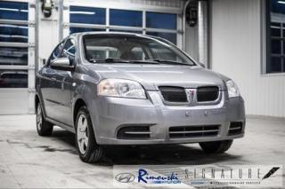 Used 2008 Pontiac Wave LS 4P CHEZ RIMOUSKI for sale in Rimouski, QC