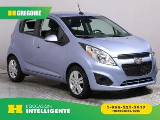 Used 2015 Chevrolet Spark LS A/C CUIR MAGS for sale in St-Léonard, QC