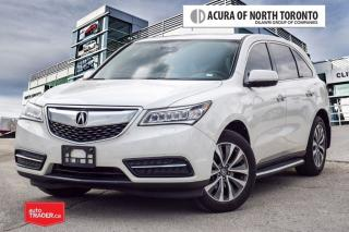 Used 2016 Acura MDX Navi 7yrs/130000KMS Warranty Included for sale in Thornhill, ON