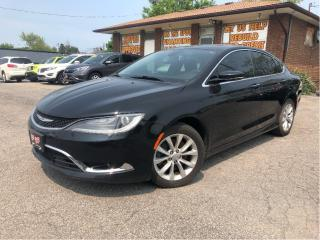 Used 2015 Chrysler 200 C -  - Leather Seats - Navigation for sale in St Catharines, ON