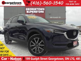 Used 2017 Mazda CX-5 GT |NAVI |LEATHER |AWD |ROOF |CAMERA |1 OWNER for sale in Georgetown, ON