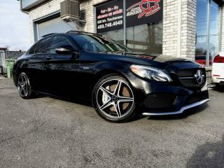 Used 2017 Mercedes-Benz C-Class C 43 AMG berline 4 portes 4MATIC TOIT PA for sale in Longueuil, QC