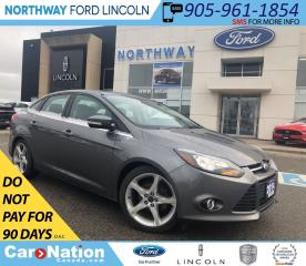 Used 2014 Ford Focus TITANIUM | HTD LEATHER | NAV | SUNROOF for sale in Brantford, ON