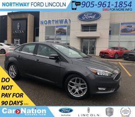 Used 2015 Ford Focus SE | SYNC | ALLOY WHEELS | SE PLUS PACK 201A for sale in Brantford, ON