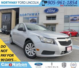 Used 2011 Chevrolet Cruze LS | SUPER CLEAN | NO ACCIDENTS! for sale in Brantford, ON
