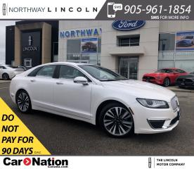 Used 2017 Lincoln MKZ SELECT | SUNROOF | NAV | HID LAMPS | AWD for sale in Brantford, ON