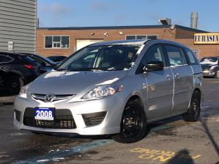 Used 2008 Mazda MAZDA5 GS 6 SEATERS for sale in Scarborough, ON
