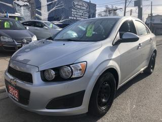 Used 2012 Chevrolet Sonic LS for sale in Toronto, ON