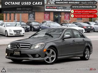 Used 2009 Mercedes-Benz C-Class Low KMs! Mint Condition! for sale in Scarborough, ON