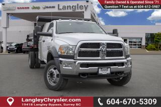 New 2018 RAM 5500 Chassis ST/SLT - Max Tow Package for sale in Surrey, BC