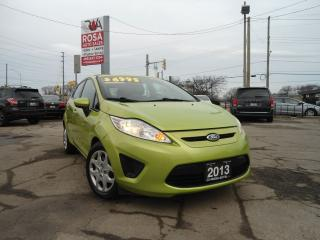 Used 2013 Ford Fiesta AUTO HATCH GAS SAVER 5 PASS A/C PW PL PM for sale in Oakville, ON