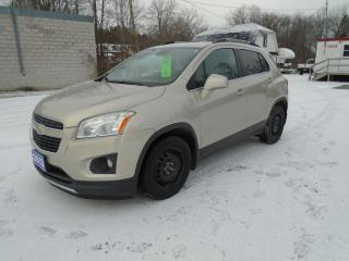 Used 2013 Chevrolet Trax LTZ for sale in Beaverton, ON