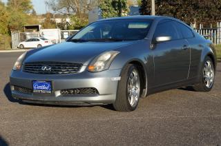 Used 2005 Infiniti G35 SPORT for sale in Scarborough, ON
