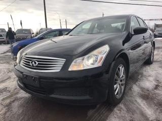 Used 2009 Infiniti G37 Luxury for sale in Gloucester, ON