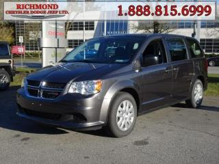 Used 2018 Dodge Grand Caravan CANADA VALUE PACKAGE for sale in Richmond, BC
