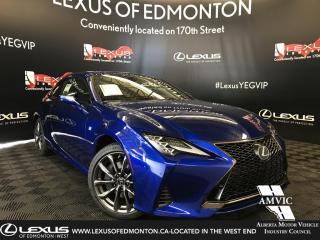 New 2019 Lexus RC 350 F Sport Series 3 for sale in Edmonton, AB