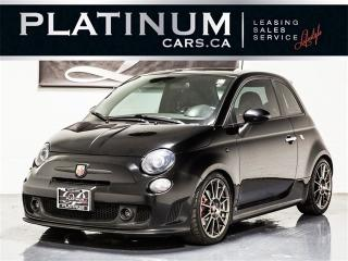 Used 2014 Fiat 500 ABARTH, 5 SPEED, SUNROOF, RED LEATHER, Bluetooth for sale in Toronto, ON