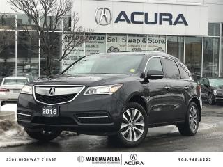 Used 2016 Acura MDX Navi SH-AWD, Pwr Liftgate, Tow Pkg for sale in Markham, ON