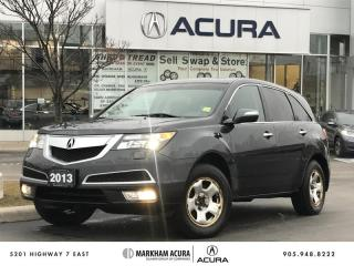 Used 2013 Acura MDX Tech 6sp at Winter Tires, Navi, Backup Cam, BSM, DVD for sale in Markham, ON