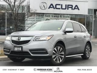 Used 2016 Acura MDX Navi SH-AWD, Running Boards, Pwr Trunk for sale in Markham, ON