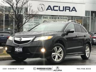 Used 2015 Acura RDX Tech at - AWD, Navi, Boards Roof Rack for sale in Markham, ON