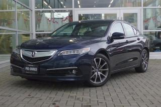 Used 2015 Acura TLX 3.5L P-AWS w/Elite Pkg *Low Kms*Loaded* for sale in Vancouver, BC