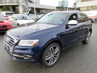 Used 2014 Audi SQ5 3.0 8sp Tiptronic Technik NAVIGATION | LEATHER | SUNROOF | POWER TAILGATE for sale in Vancouver, BC