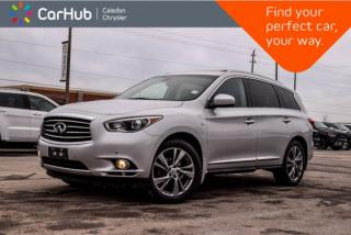 Used 2015 Infiniti QX60 AWD|7 Seater|Navi|Sunroof|DVD|Backup Cam|Bluetooth|R- Start|Leather|18