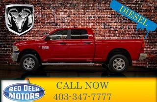 Used 2018 RAM 3500 4x4 Crew Cab SLT Diesel for sale in Red Deer, AB