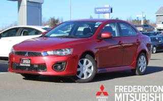 Used 2017 Mitsubishi Lancer ES HEATED SEATS | WARRANTY TO 160K for sale in Fredericton, NB