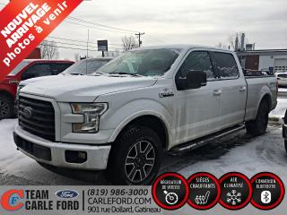 Used 2017 Ford F-150 Ford F-150 XLT 2017, GPS, caméra de recu for sale in Gatineau, QC