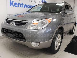 Used 2012 Hyundai Veracruz GL FWD with heated seats and rear climate control. Put the cruz in Veracruz for sale in Edmonton, AB