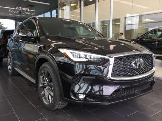 Used 2019 Infiniti QX50 SENSORY PACKAGE for sale in Edmonton, AB