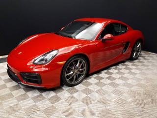 Used 2015 Porsche Cayman GTS | CPO | Ext. Warranty | Premium PLUS | Burmester | PTV | 18-way Seats for sale in Edmonton, AB