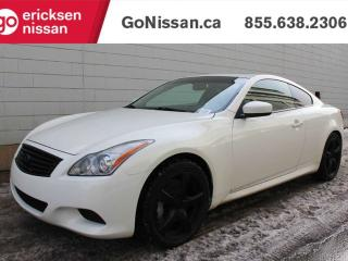 Used 2010 Infiniti G37 Coupe G37S Journey: FINANCING AVAILABLE, PADDLE SHIFTER, TWO SETS OF WHEELS, NAVIGATION, LEATHER, HEATED SEATS, SUNROOF for sale in Edmonton, AB