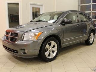 Used 2012 Dodge Caliber SXT FWD 4-dr Hatchback, cloth seats, cruise control, heated seats, LOW MILEAGE for sale in Red Deer, AB