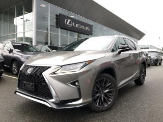 Used 2017 Lexus RX 350 8A F-Sport 2, Local, Clean Vehicle for sale in North Vancouver, BC
