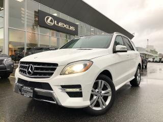 Used 2015 Mercedes-Benz ML-Class ML400 4matic Premium PKG,  NO Accidents, ONE Owner for sale in North Vancouver, BC