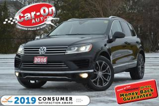 Used 2016 Volkswagen Touareg 3.6L Outdoors Pkg LEATHER NAV PANO ROOF REAR CAM for sale in Ottawa, ON
