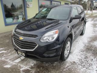 Used 2016 Chevrolet Equinox ALL-WHEEL DRIVE LS MODEL 5 PASSENGER 2.4L - ECO-TEC.. ECON-PACKAGE.. TOUCH SCREEN.. BLUETOOTH.. BACK-UP CAMERA.. for sale in Bradford, ON